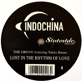 "Grove (The) ft Takka Boom - Lost In The Rhythm Of Love (12"") (G+/NM)"